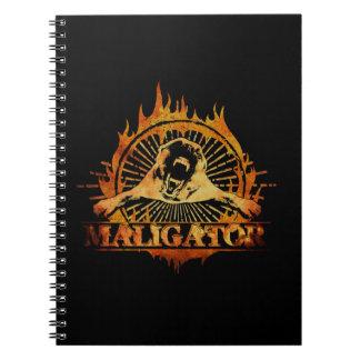 Caderno Espiral Malinois - pastor belga