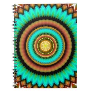 Caderno Espiral Mandala