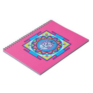 Caderno Espiral Mandala de Ganesha