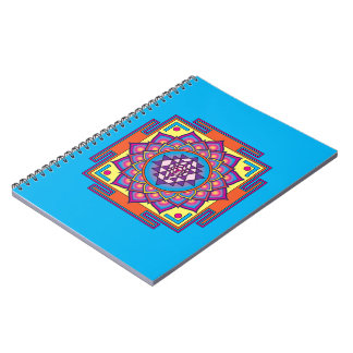 Caderno Espiral Mandala de Sri Yantra