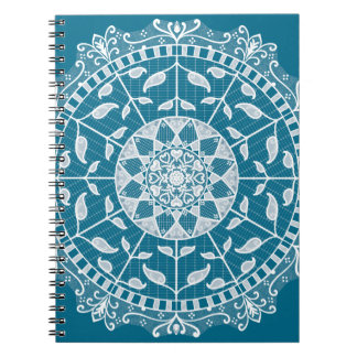 Caderno Espiral Mandala de Tidepool