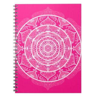 Caderno Espiral Mandala do Foxglove