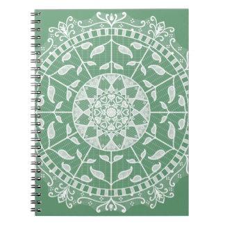 Caderno Espiral Mandala prudente