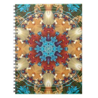Caderno Espiral Mandalas do coração da liberdade 23 presentes