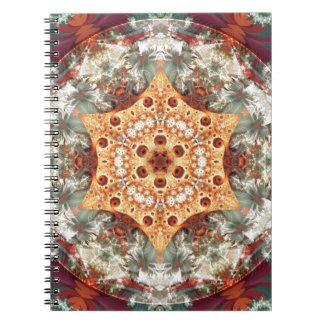 Caderno Espiral Mandalas do coração da liberdade 24 presentes