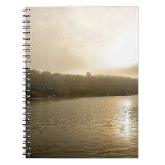 Caderno Espiral Manhã nevoenta de Whitby