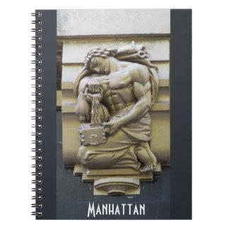 Caderno Espiral Manhattan maravilhoso