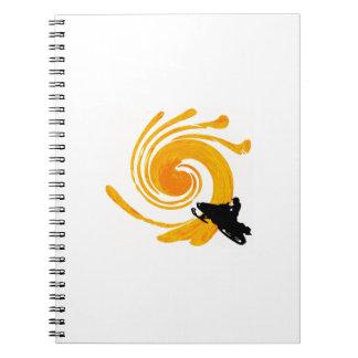 Caderno Espiral Manifestação extrema