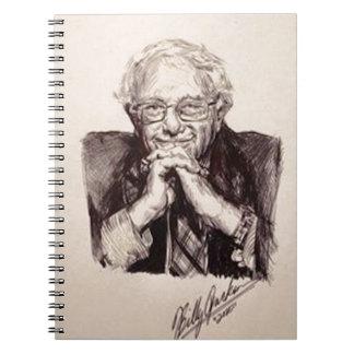 Caderno Espiral Máquinas de lixar de Bernie por Billy Jackson