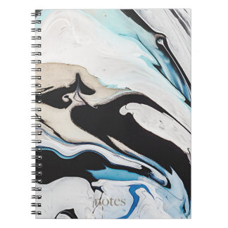 Caderno Espiral Mármore de Swirly