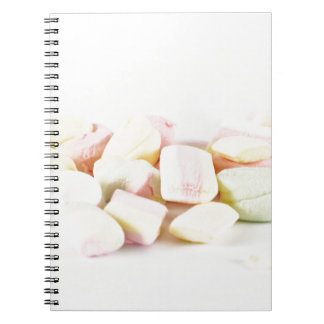 Caderno Espiral Marshmallows dos doces