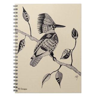 Caderno Espiral Martinho pescatore da caneta & da tinta