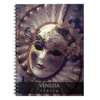 Caderno Espiral Mascarada Venetian