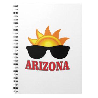 Caderno Espiral máscaras da arizona yeah