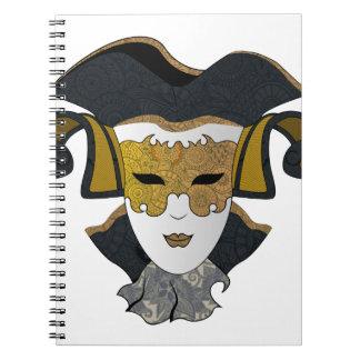 Caderno Espiral Maschera-Veneziana