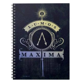 Caderno Espiral Máximos do período | Lumos de Harry Potter