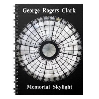 Caderno Espiral Memorial de George Rogers Clark