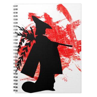 Caderno Espiral Menina japonesa
