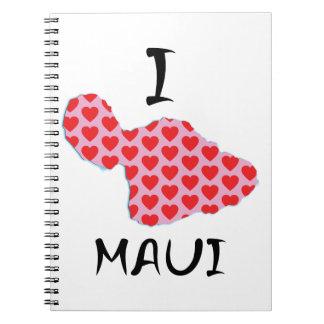 Caderno Espiral Mim coração Maui