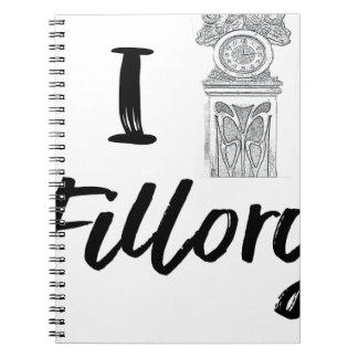 Caderno Espiral Mim (pulso de disparo) Fillory