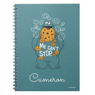 Caderno Espiral Monstro do biscoito do Sesame Street | - eu não