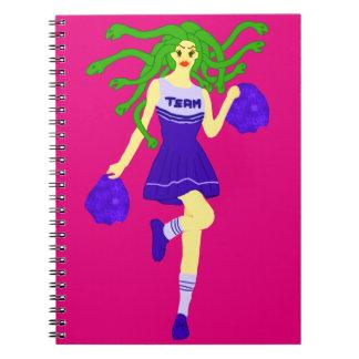 Caderno Espiral monstro do cheerleader