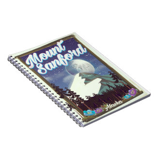 Caderno Espiral Montagem Sanford Alaska