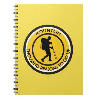 Caderno Espiral Montanhista