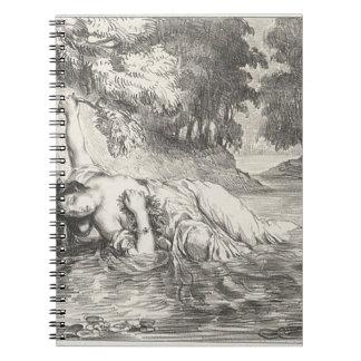 Caderno Espiral Morte de Ophelia