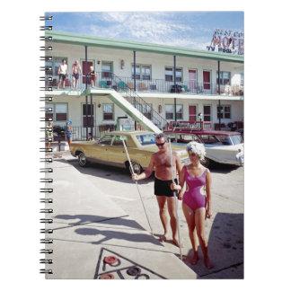 Caderno Espiral Motel da angra do resto nos anos 60