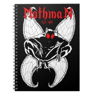 Caderno Espiral Mothman