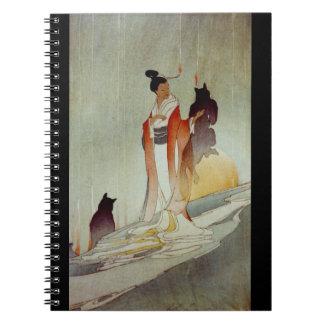 Caderno Espiral Mulher 1912 do Fox