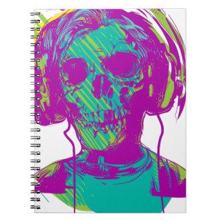 Caderno Espiral Música do zombi