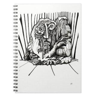 Caderno Espiral Na borda, por Brian Benson
