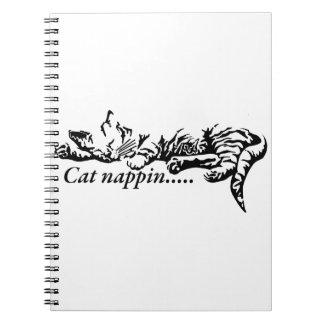 Caderno Espiral Nappin do gato ..........