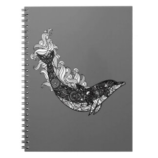Caderno Espiral Natação do golfinho