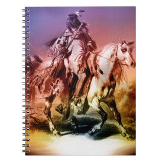 Caderno Espiral Nativo americano
