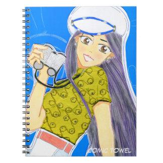 Caderno Espiral Navigação de Emiko