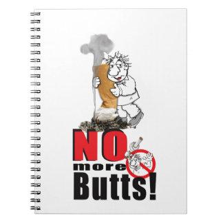 Caderno Espiral NENHUNS BUMBUNS - pare de fumar
