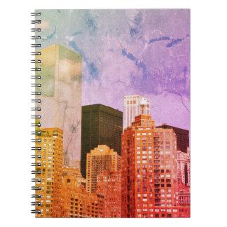 Caderno Espiral New-York NYC city