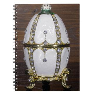 Caderno Espiral Ninho de ovos das pérolas