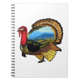 Caderno Espiral No feriado