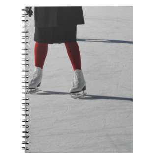 Caderno Espiral No gelo