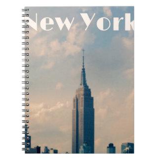 Caderno Espiral Nova Iorque