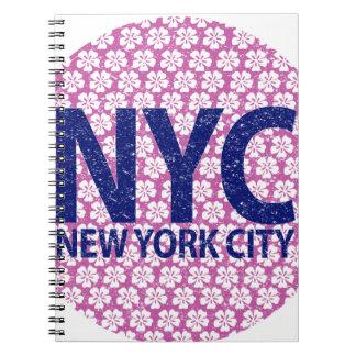 Caderno Espiral Nova Iorque NYC