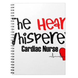 Caderno Espiral Nutra o whisperer do coração