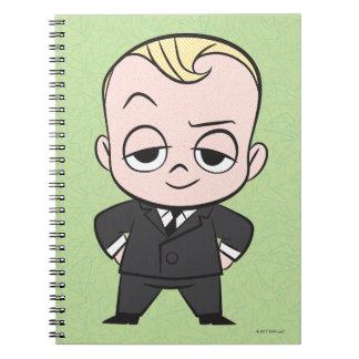 Caderno Espiral O bebê do chefe | eu não sou nenhum bebê ordinário