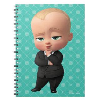 Caderno Espiral O bebê do chefe | eu sou o chefe!