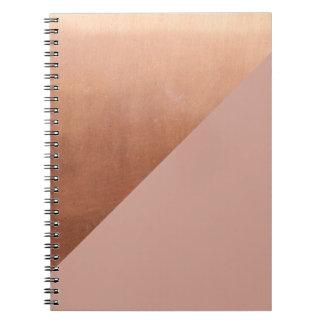 Caderno Espiral O cobre e cora
