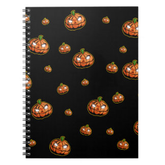 Caderno Espiral O Dia das Bruxas feliz